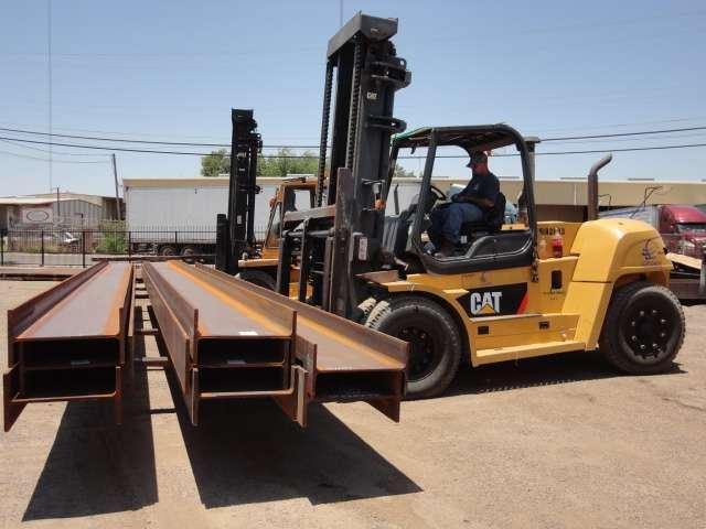 Importaciones de acero en Laredo
