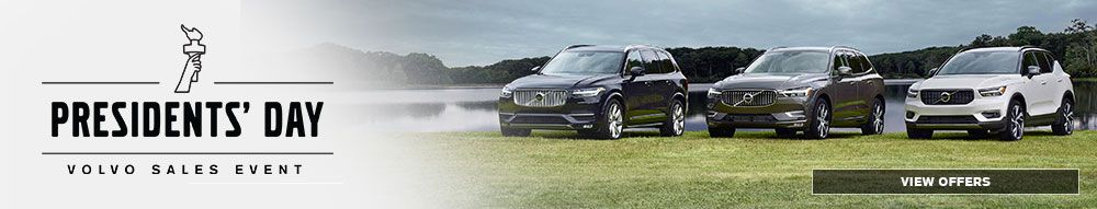 Volvo Presidents Day Sales Event