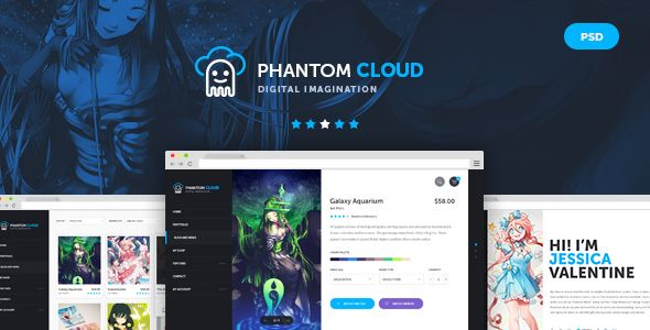 The Bebop Anime and Comic Convention PSD Template - 11