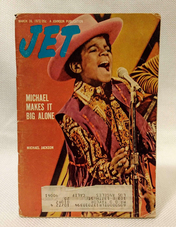 Jet Magazine March 16, 1972 [Michael Jackson cover], Johnson, John H. [editor & publisher]