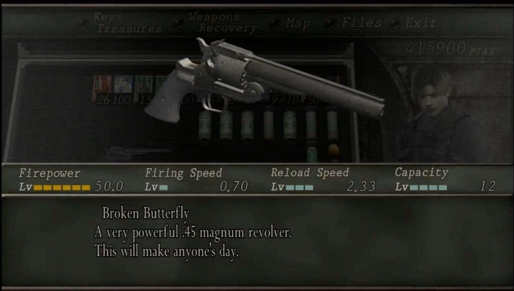 Kelebihan Dan Kekurangan Senjata Di Game Resident Evil 4