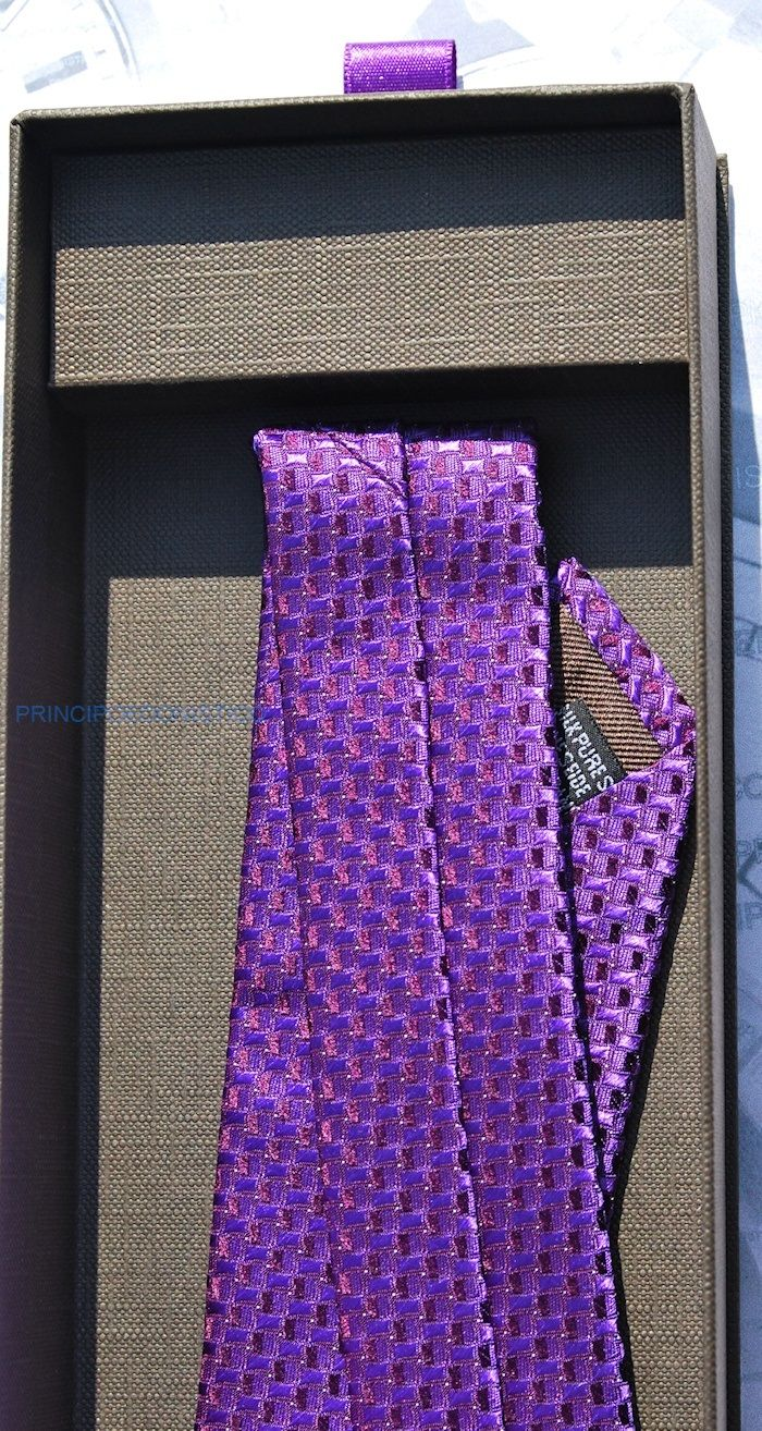 Patek Philippe Tie Purple Limited Edition 2013 Original New With Box Jewelry & Watches