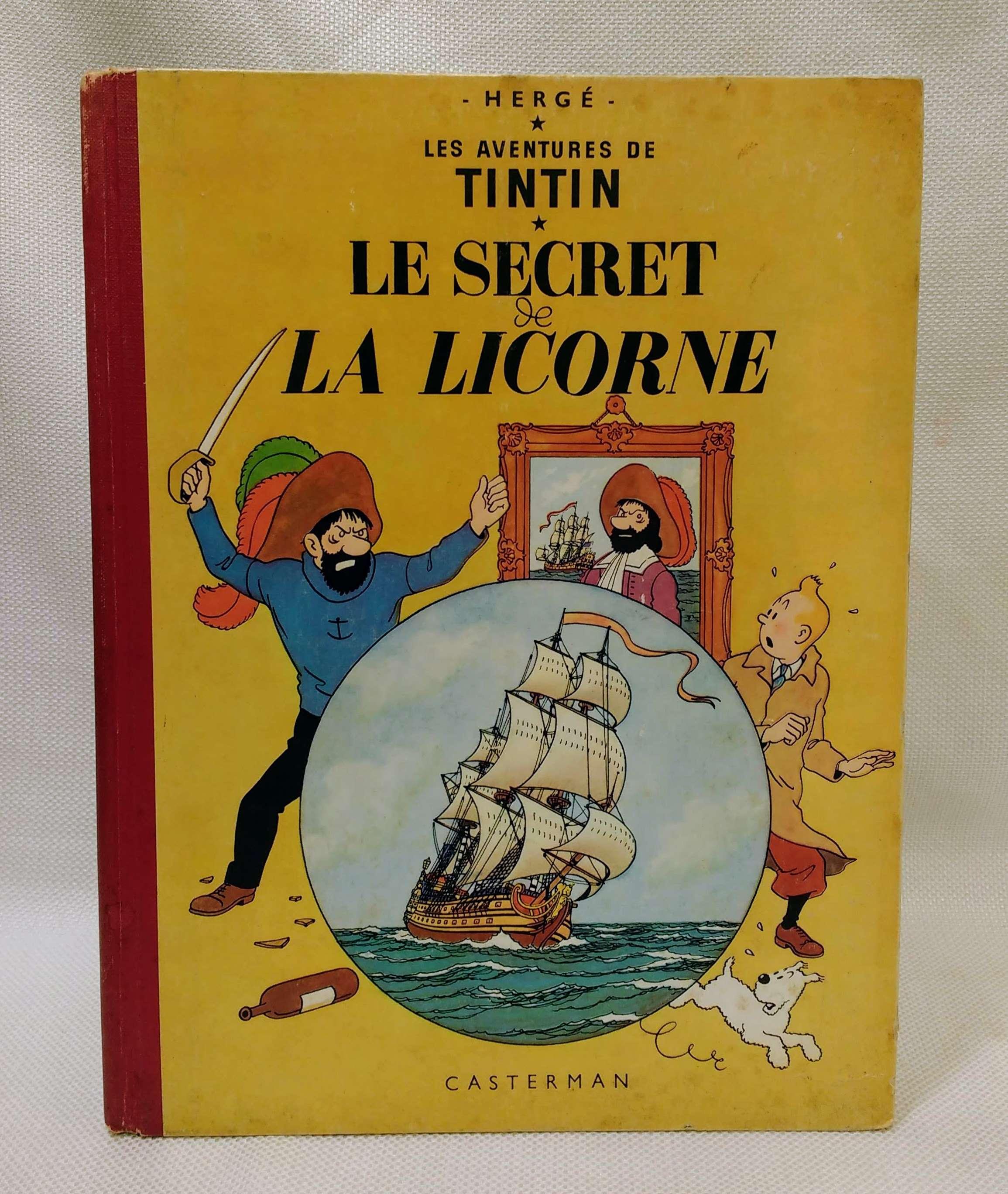 Le Secret De La Licorne (Les Aventures Du Tintin), Herge