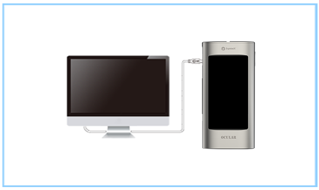 Joyetech Ocular C Touchscreen TC Mod: Charging and upgrading