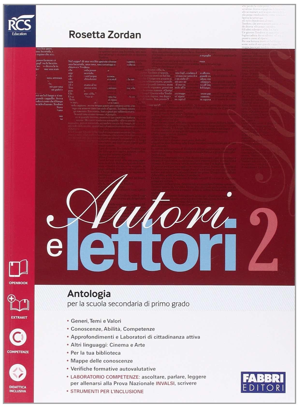 Autori e lettori Vol.2 + Quaderno 2