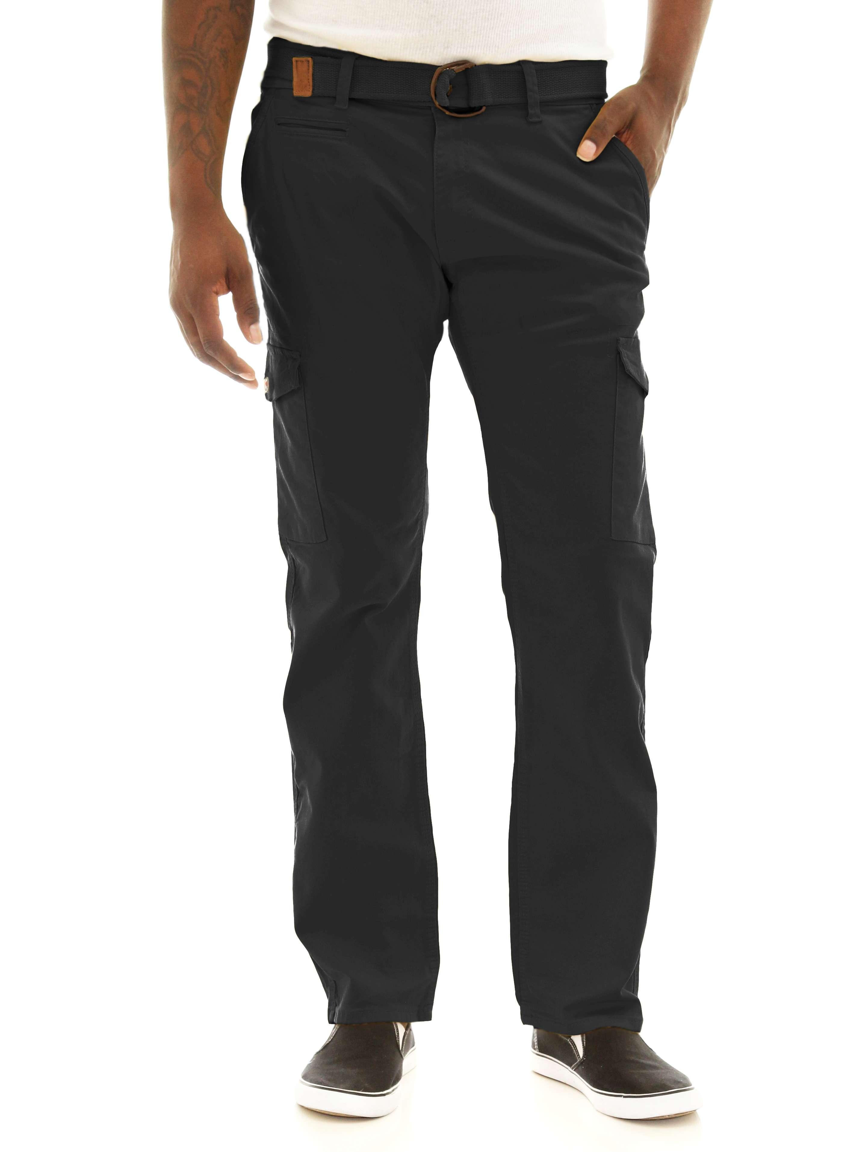 2c8de96202457c Jordan Craig Men s Slim Fit Stretch Twill Belted Cargo Pants