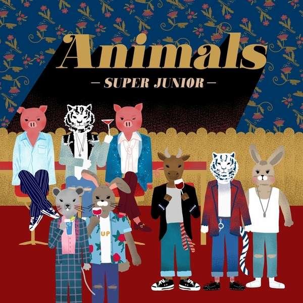 Download SUPER JUNIOR - Animals Mp3