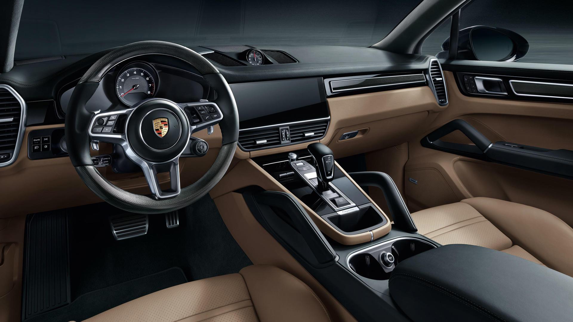 2018 Porsche Cayenne Front Seating