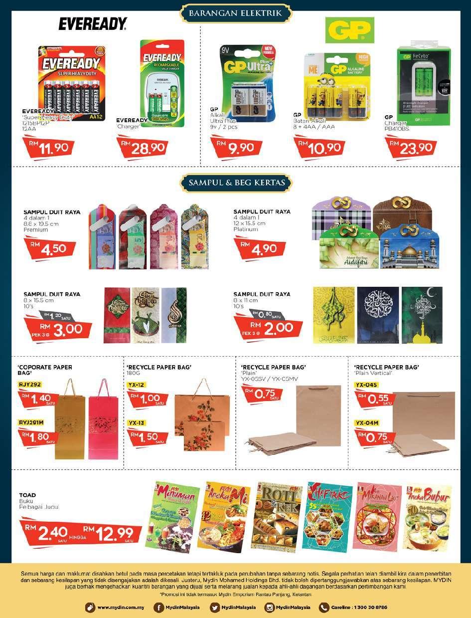 Mydin Catalogue(1 June 2018 - 17 June 2018)