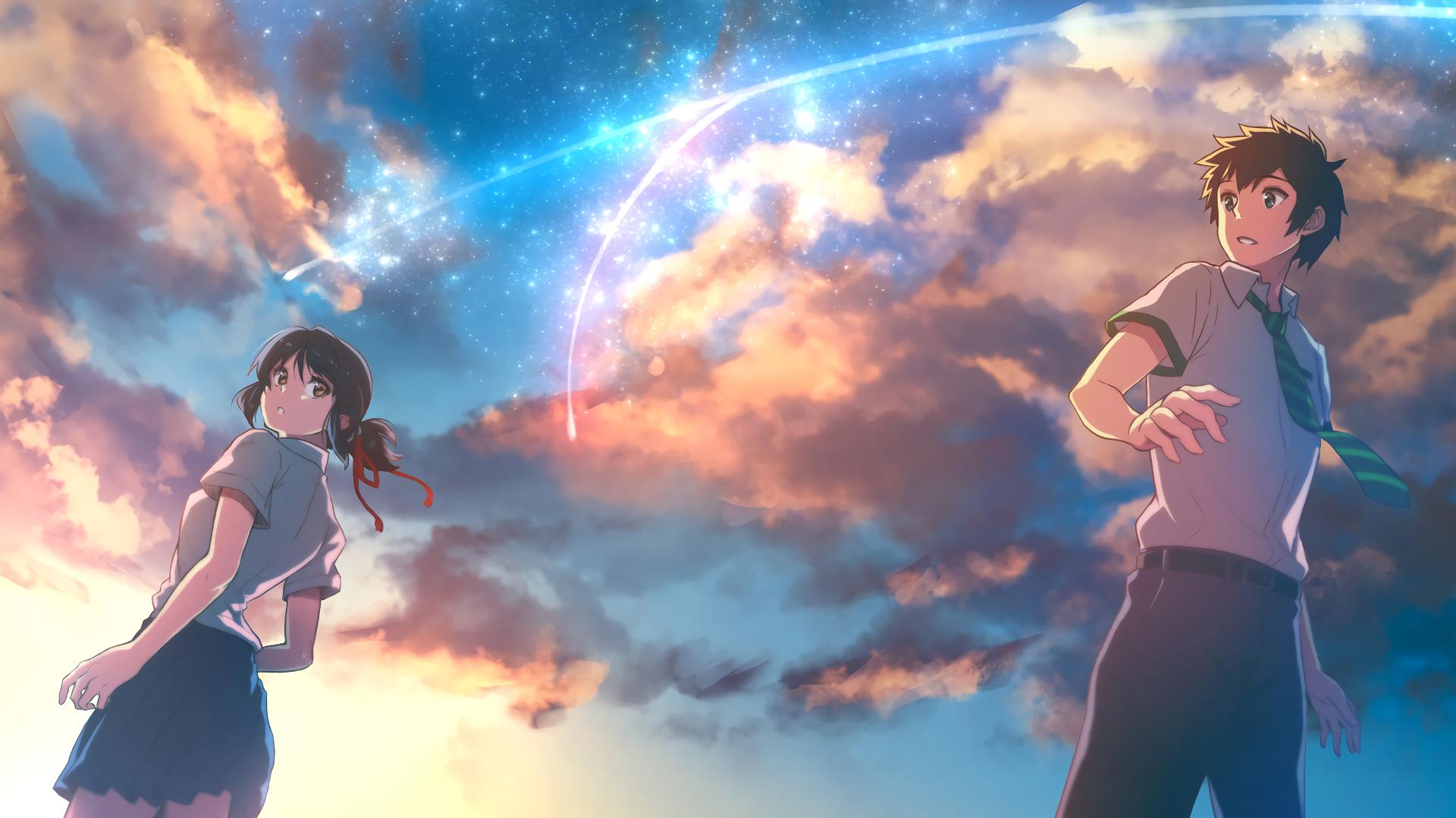 [Wallpaper] Tổng hợp hình nền anime Your Name