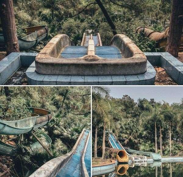 Abandoned Water Park Ho Thuy Tien (near Hue/ Vietnam)