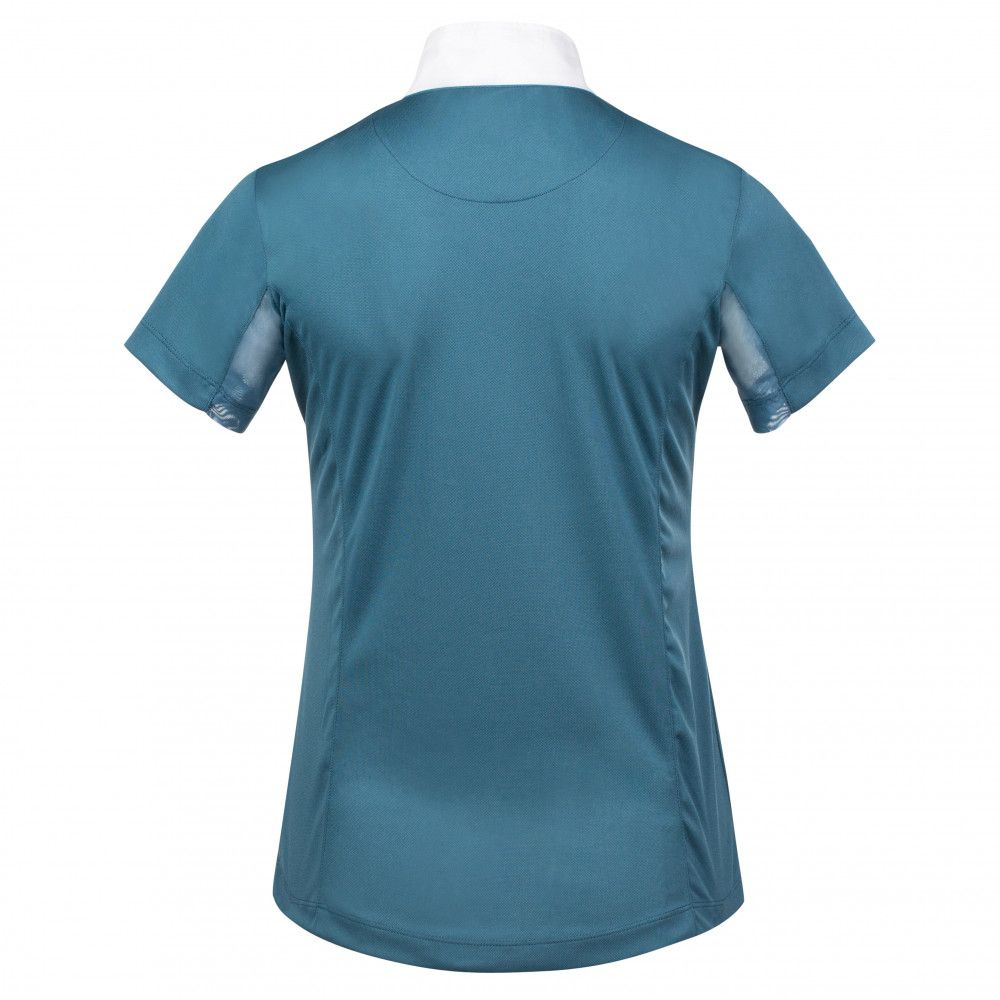 Horze-Blaire-Women-039-s-Short-Sleeve-Functional-Show-Shirt-with-UV-Protection thumbnail 28