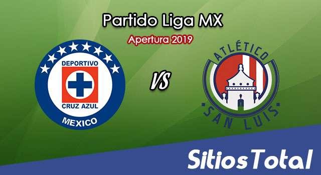 Ver Cruz Azul vs Atlético San Luis en Vivo – Apertura 2019 de la Liga MX