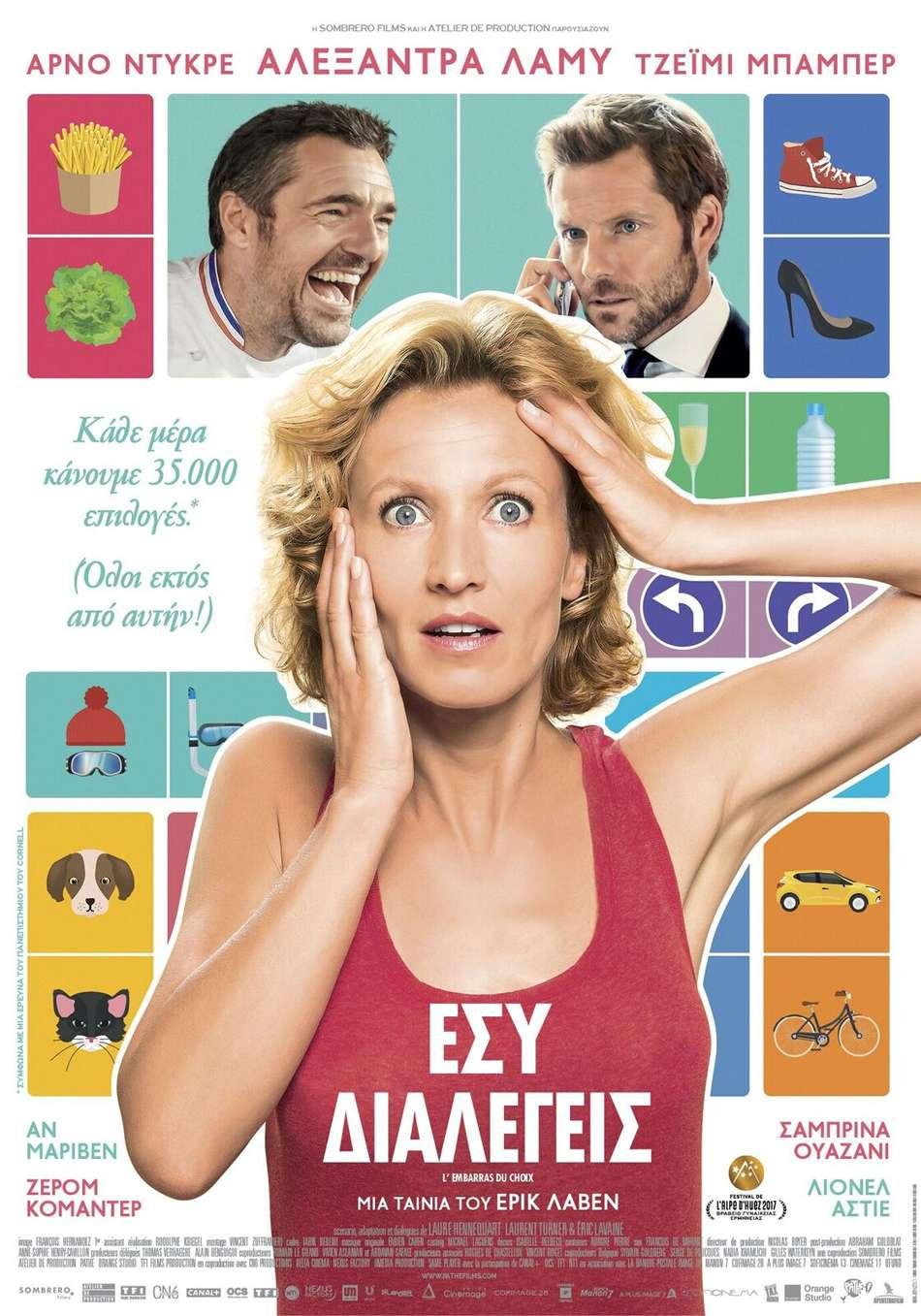 Εσύ Διαλέγεις (L' Embarras du Choix) Poster Πόστερ