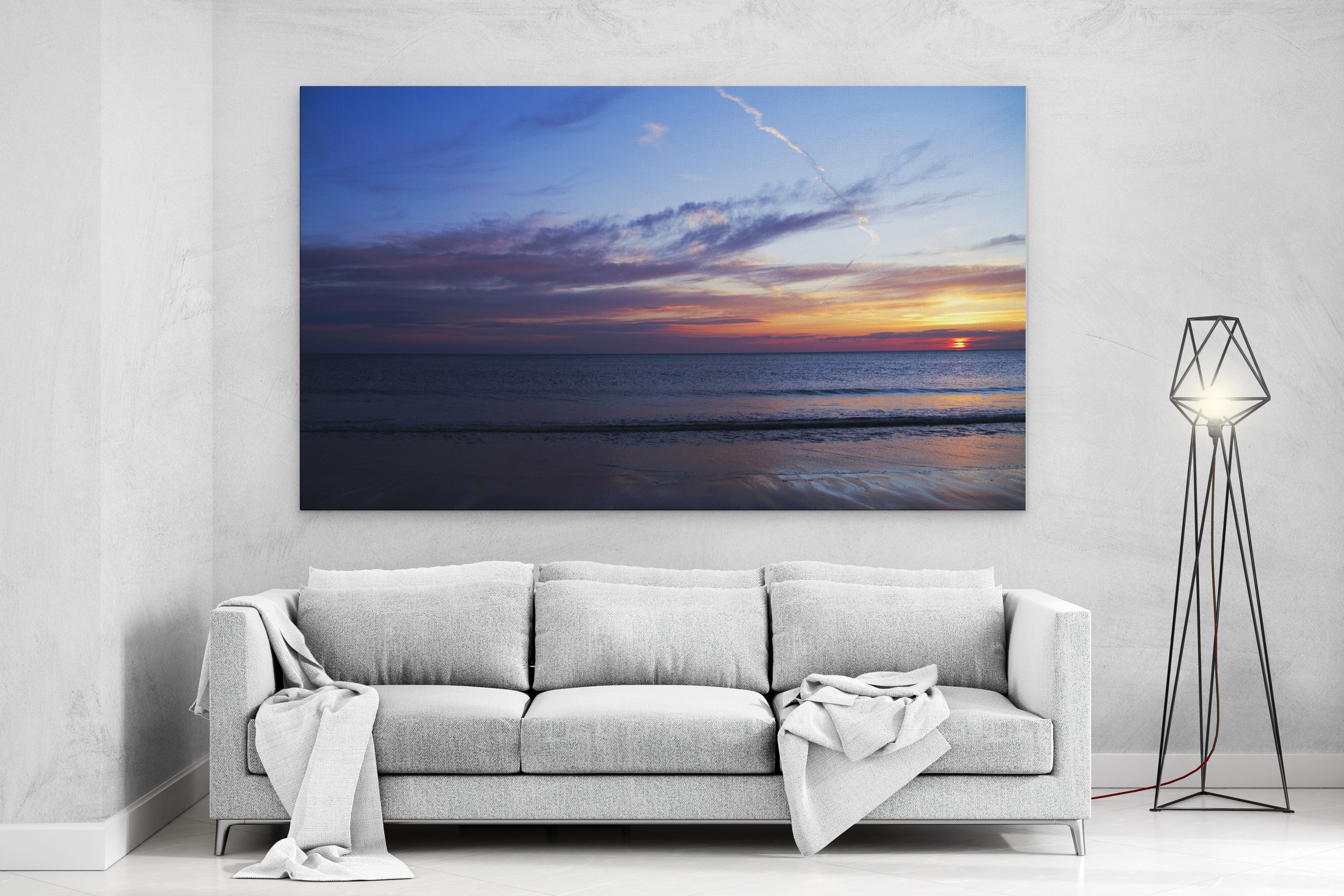 READY TO HANG YOUR PHOTO PICTURE ON CANVAS PRINT DEEP FRAME  MATAGA FRAMED