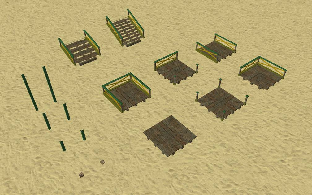 Image 02, My Projects - CSO's I Have Imported, Boardwalk Paths