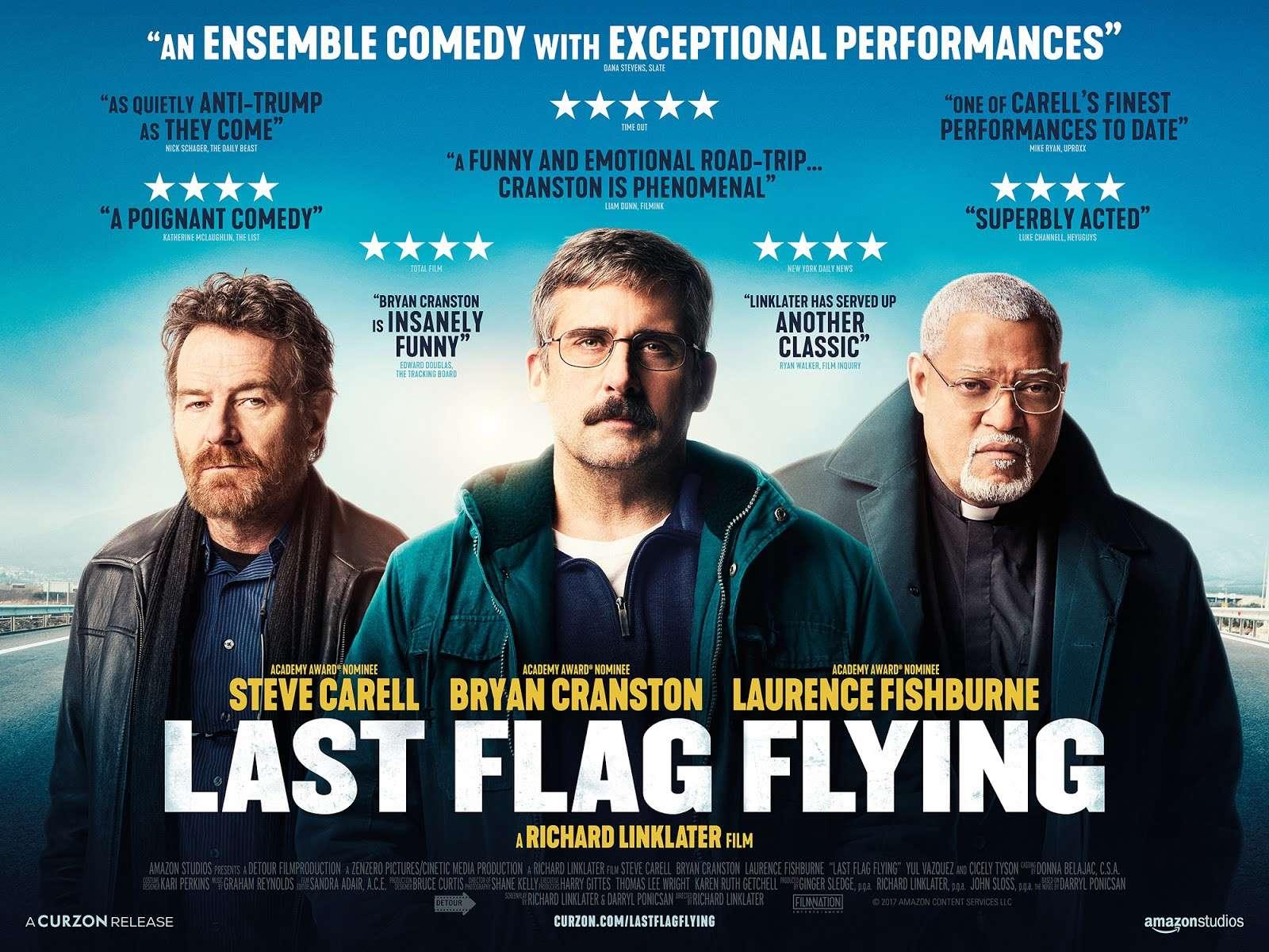 Η Τελευταία Σημαία (Last Flag Flying) Quad Poster Πόστερ