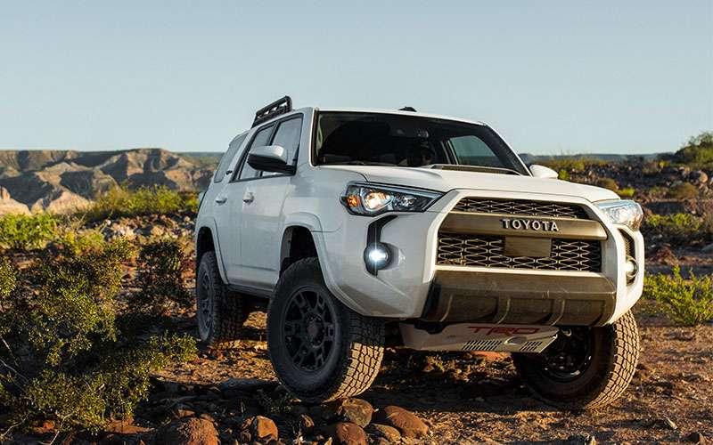 2020 Toyota 4Runner Exterior Styling