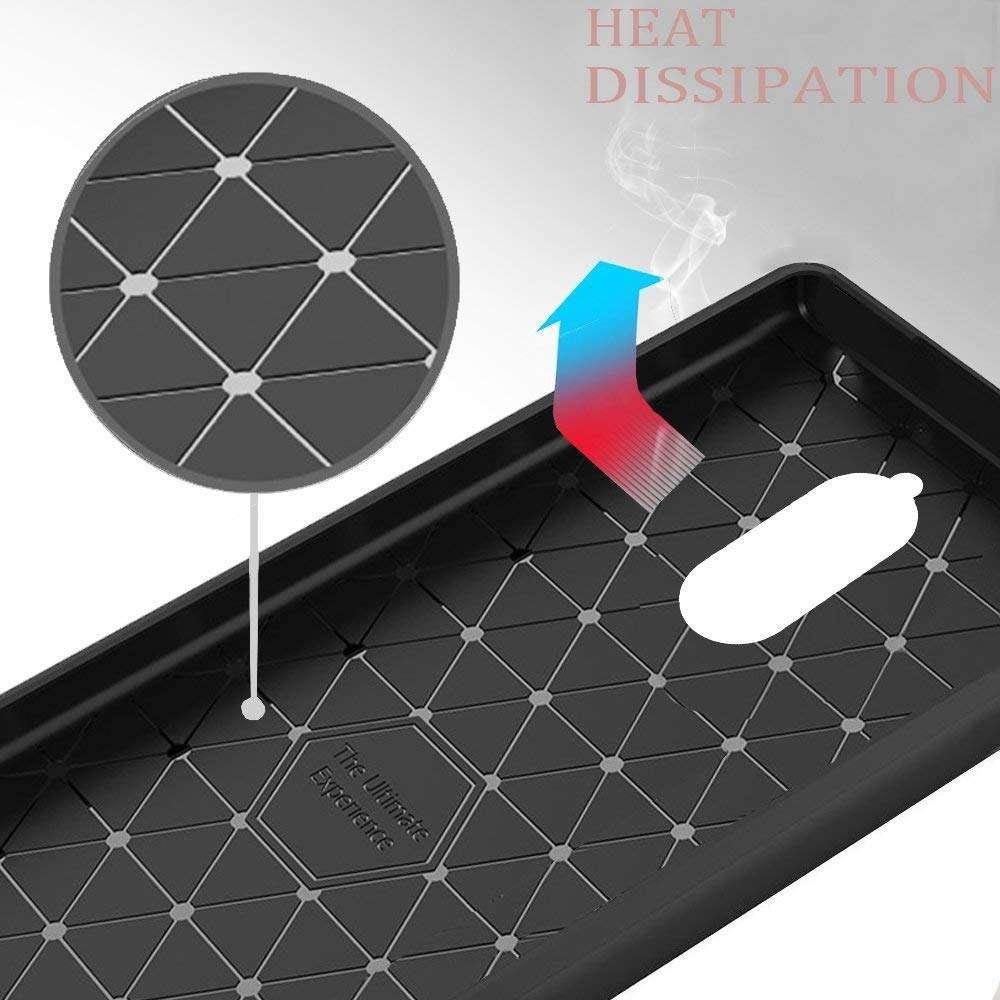Coque-Etui-Housse-Silicone-brossee-Fibre-de-carbone-Noir-Protection-Huawei miniature 16