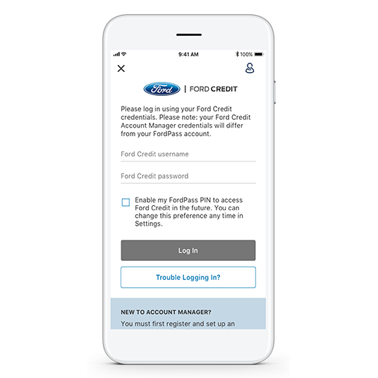 Secure Payments with Ford Credit