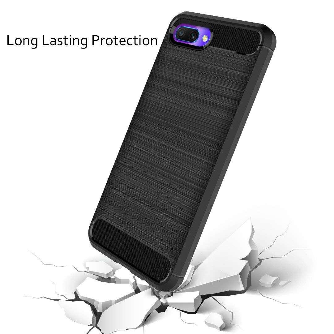 Coque-Etui-Housse-Silicone-brossee-Fibre-de-carbone-Noir-Protection-Huawei miniature 21