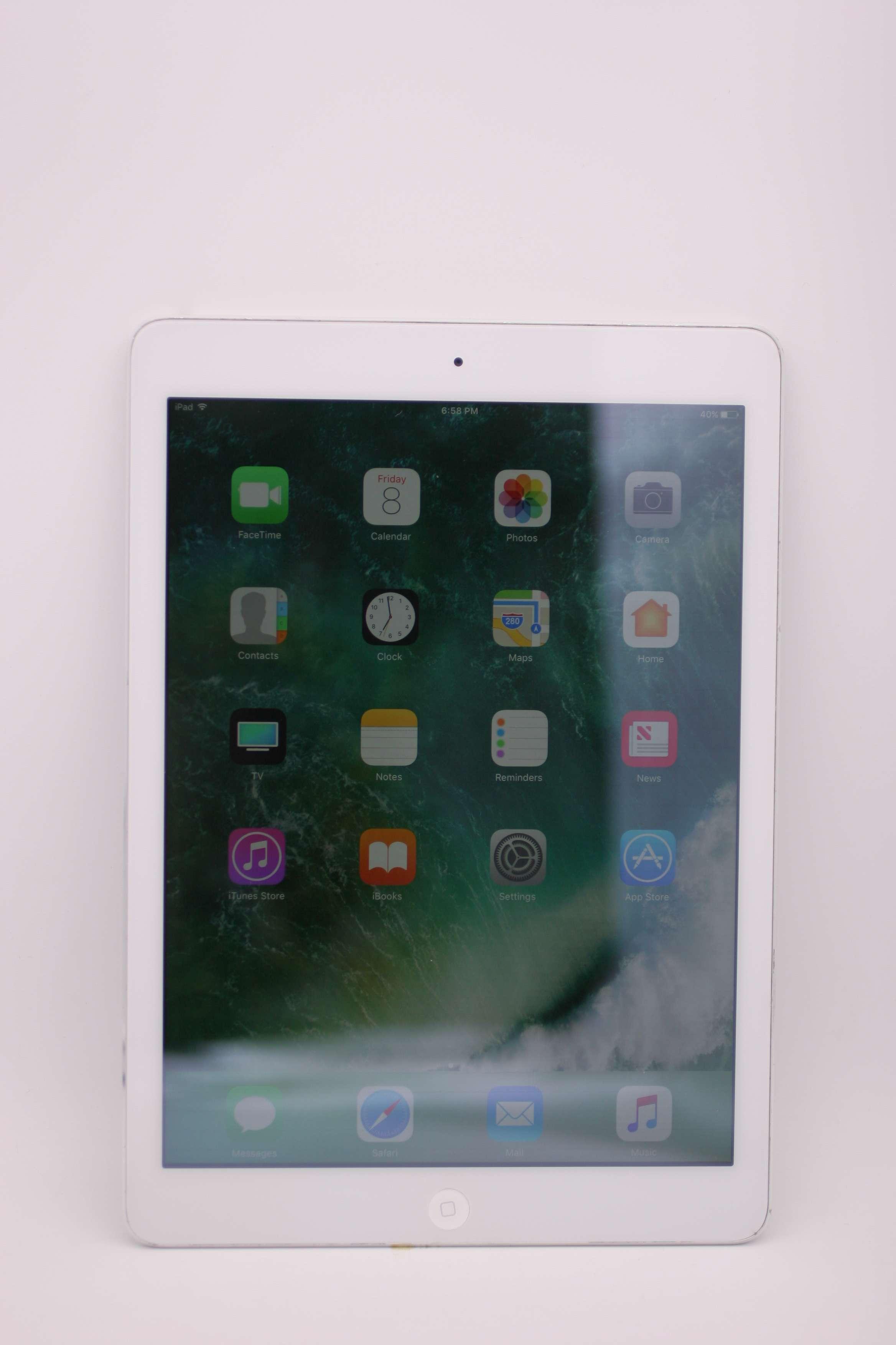 Apple Ipad Air 1st Generacion Wi Fi 32gb Plata Md789ll A Ios 10 3 3 Ebay