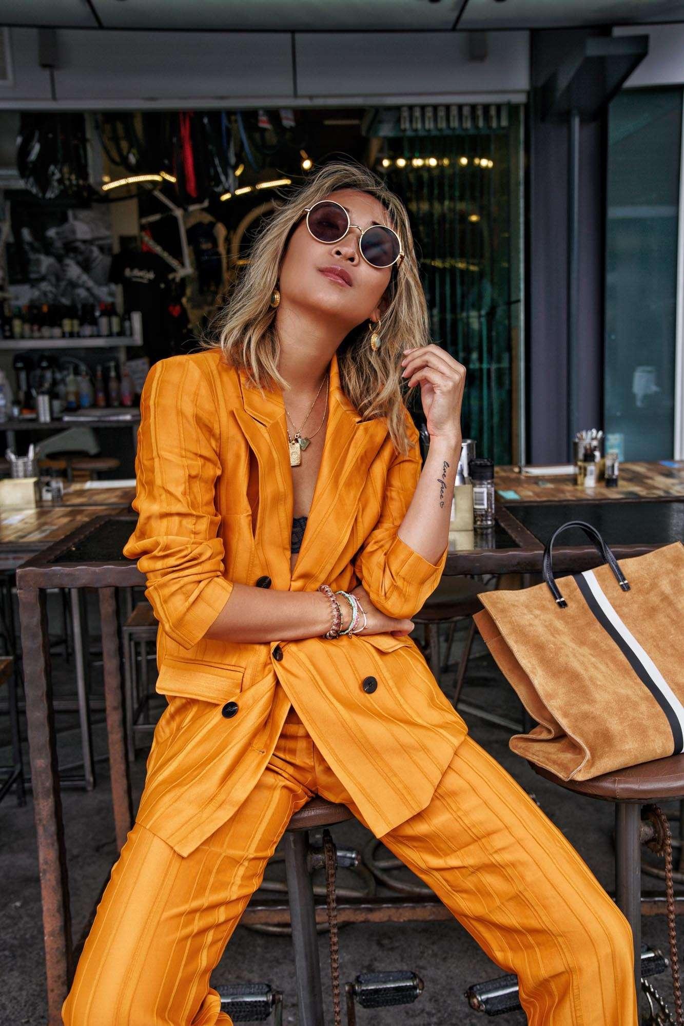 The Iconic, Topshop Orange Suit