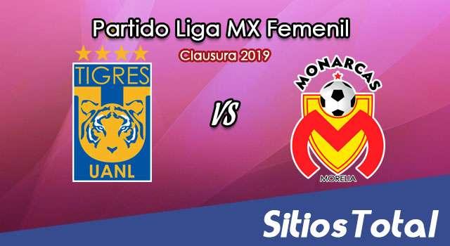 Ver Tigres vs Monarcas Morelia en Vivo – Liga MX Femenil – Clausura 2019 – Lunes 11 de Febrero del 2019