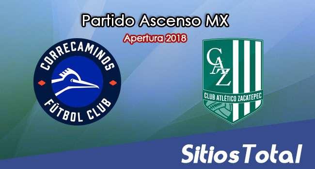 Ver Correcaminos vs Atlético Zacatepec en Vivo – Ascenso MX en su Torneo de Apertura 2018