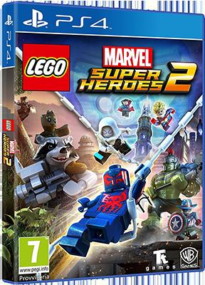 [PS4] LEGO Marvel Super Heroes 2 (2017) - FULL ITA