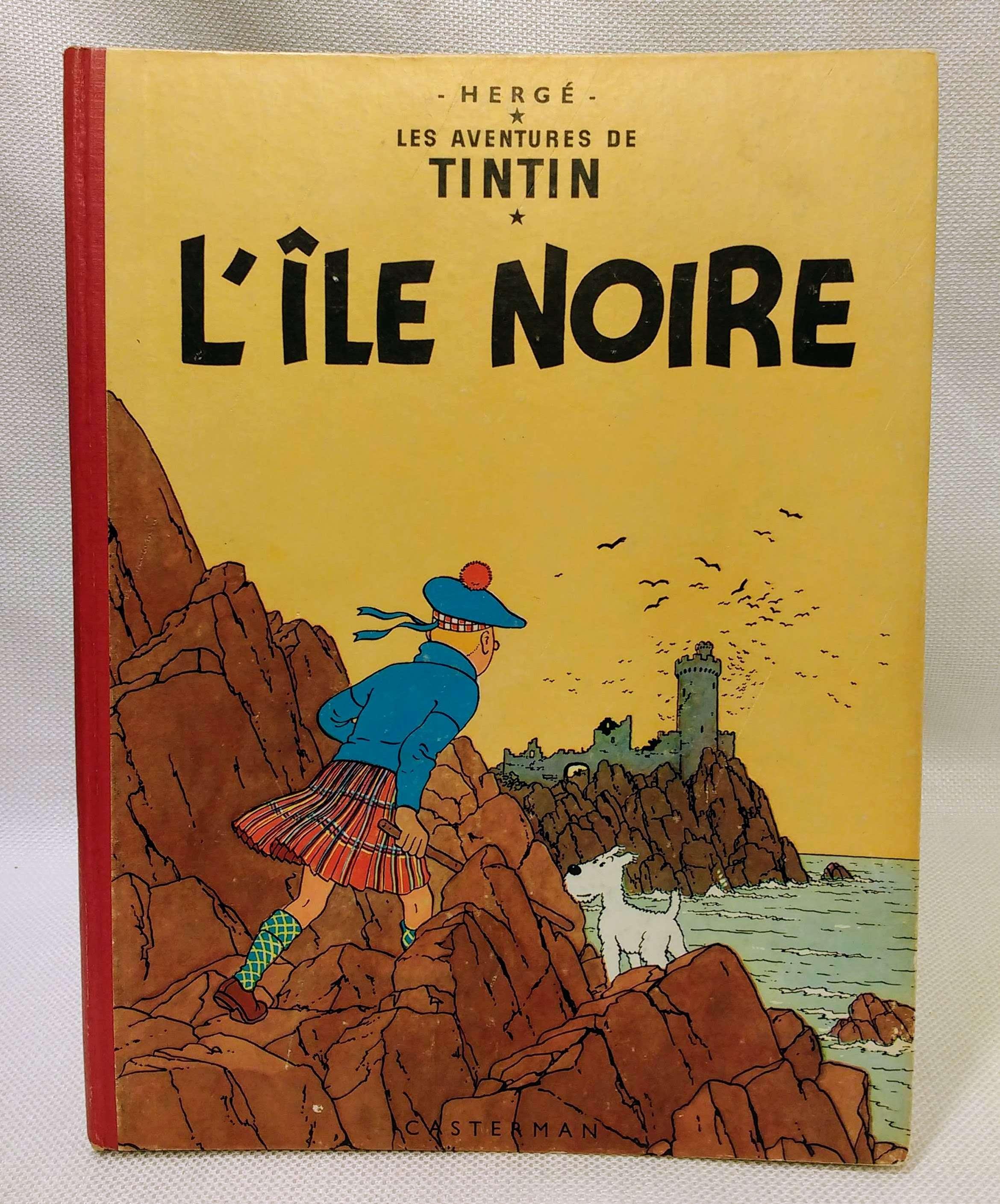 L'ile Noire: Les Adventures De Tintin, Herge