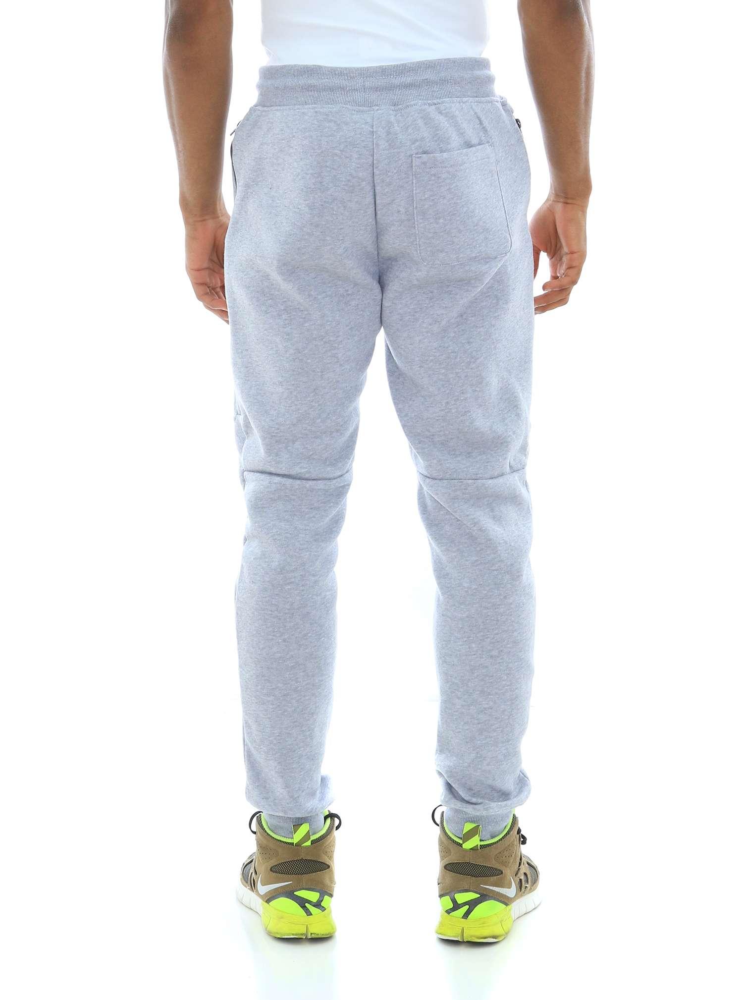 WT02-Men-039-s-Fleece-Jogger-Sweatpants-With-Bonded-Zippers thumbnail 10