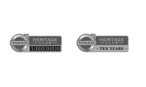Volvo Heritage Club Badge Emblems
