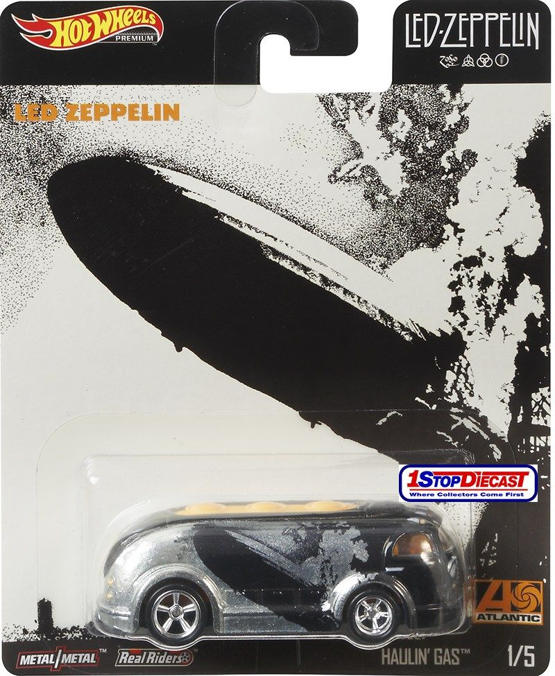 hot wheels lancamento led zeppelin