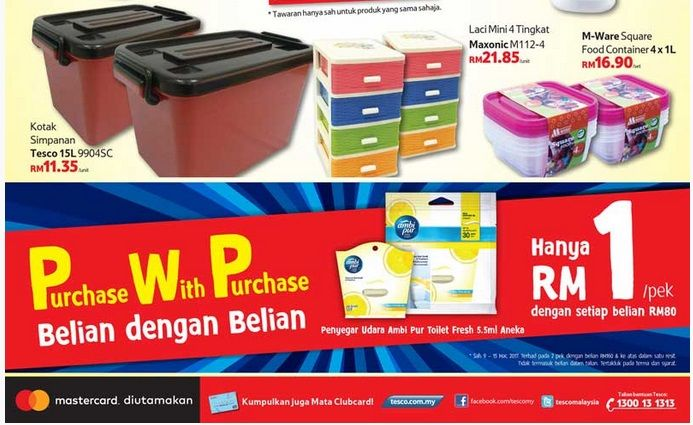 Tesco Malaysia Weekly Catalogue (9 March 2017 - 15 March 2017)