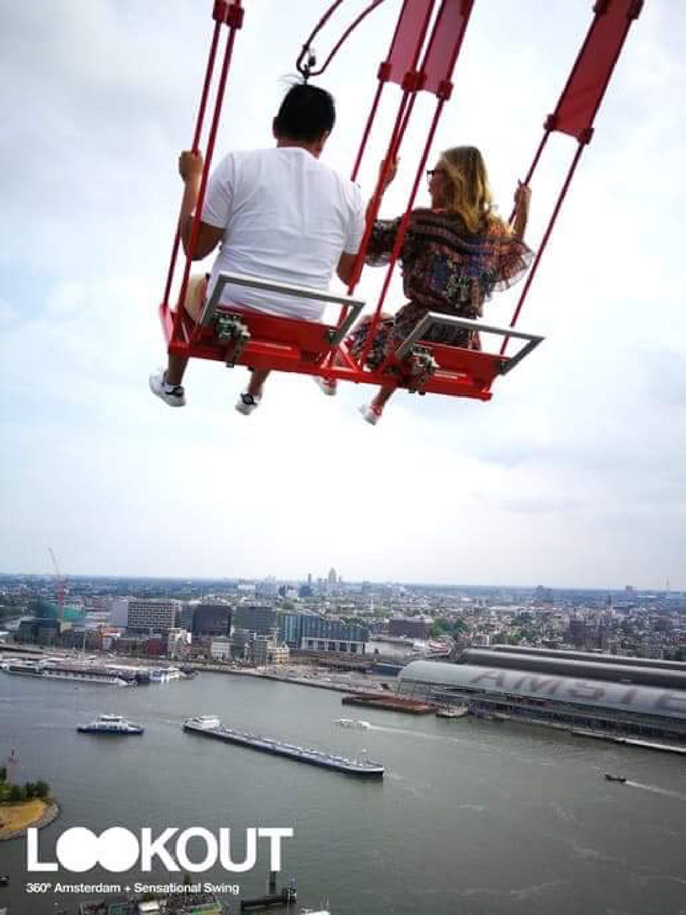 A'dam Lookout Swing Amsterdam