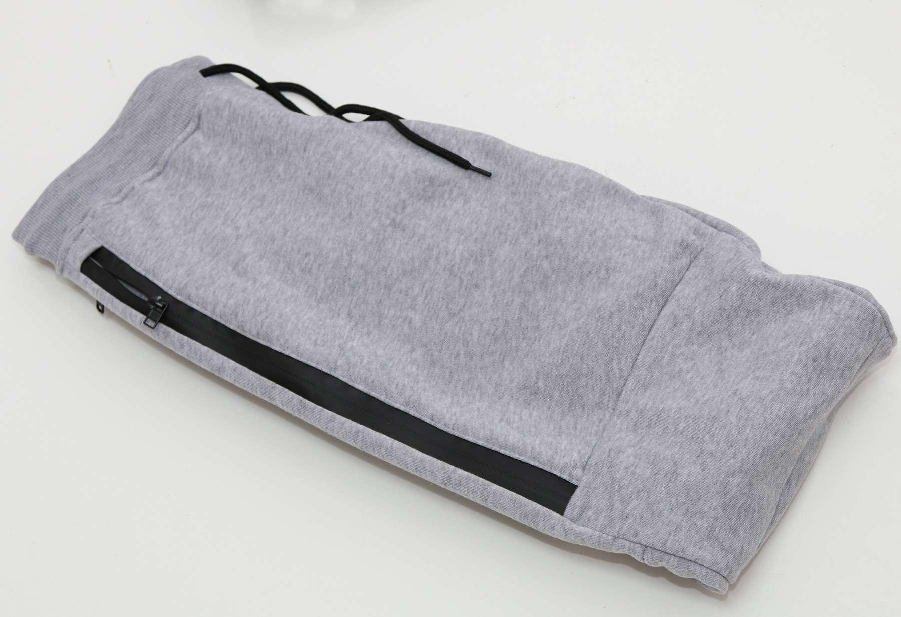 WT02-Men-039-s-Fleece-Jogger-Sweatpants-With-Bonded-Zippers thumbnail 11