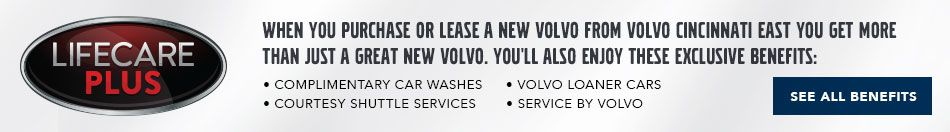 Volvo East Exclusive Benefits