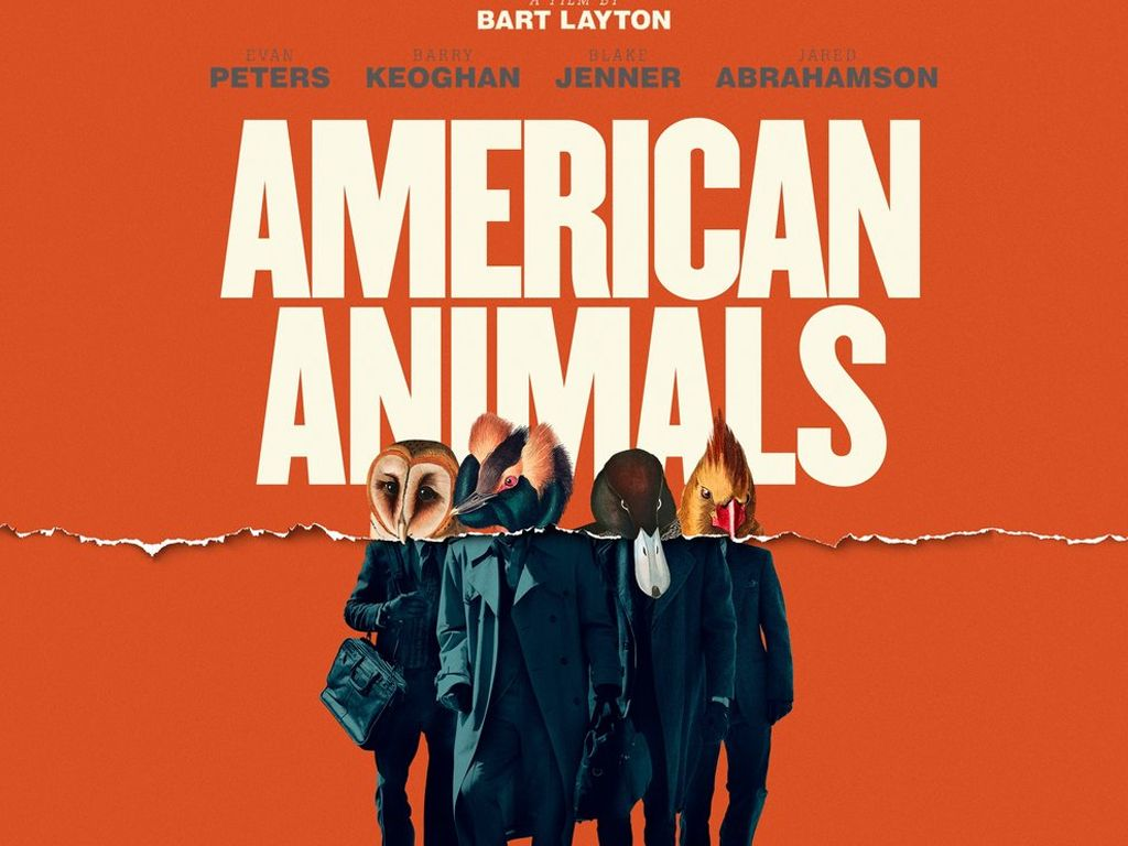 Μια αμερικάνικη ληστεία (American Animals)  Poster Πόστερ Wallpaper