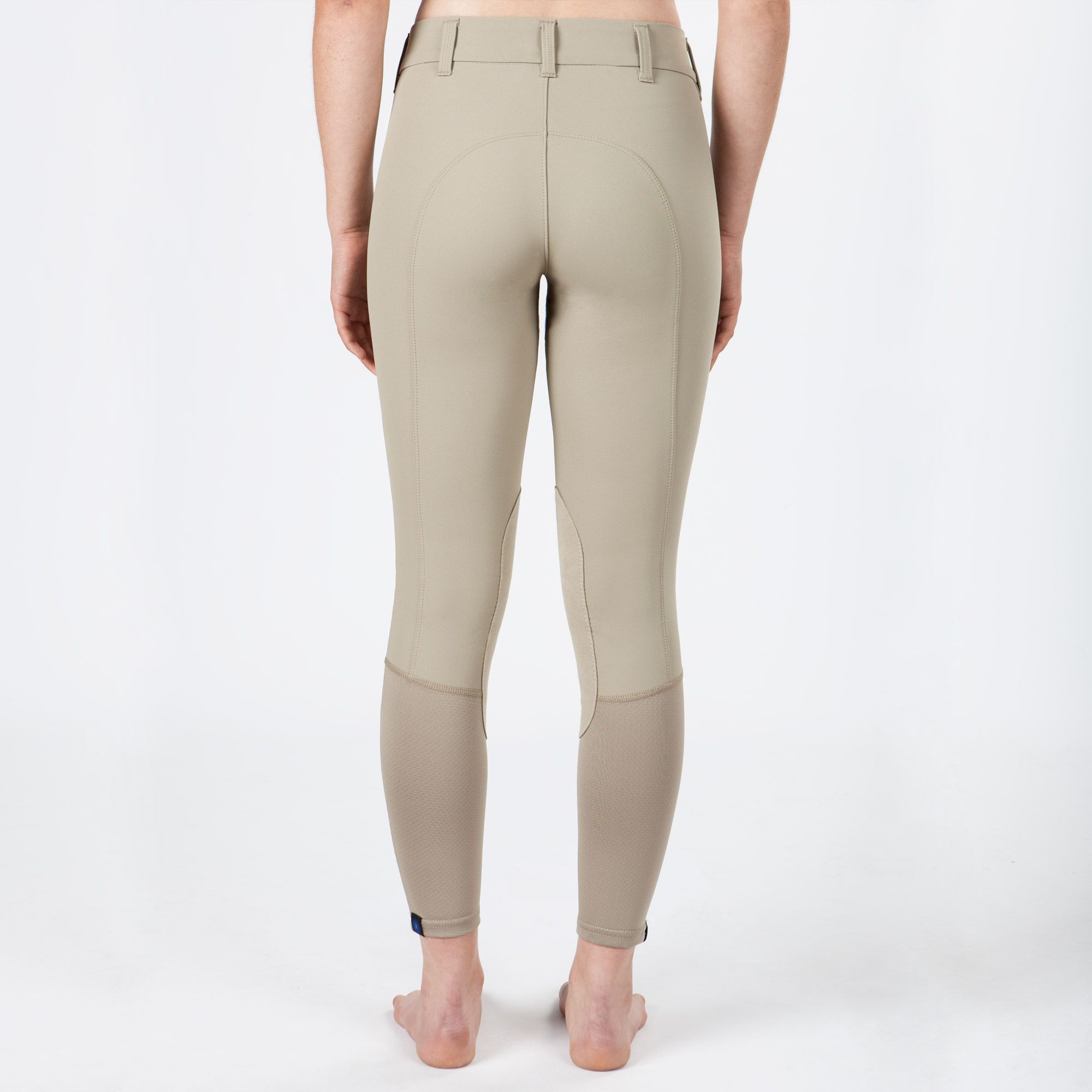 Irideon-Children-039-s-Hampshire-Knee-Patch-Riding-Breeches-with-Euro-Seat-Styling miniature 8