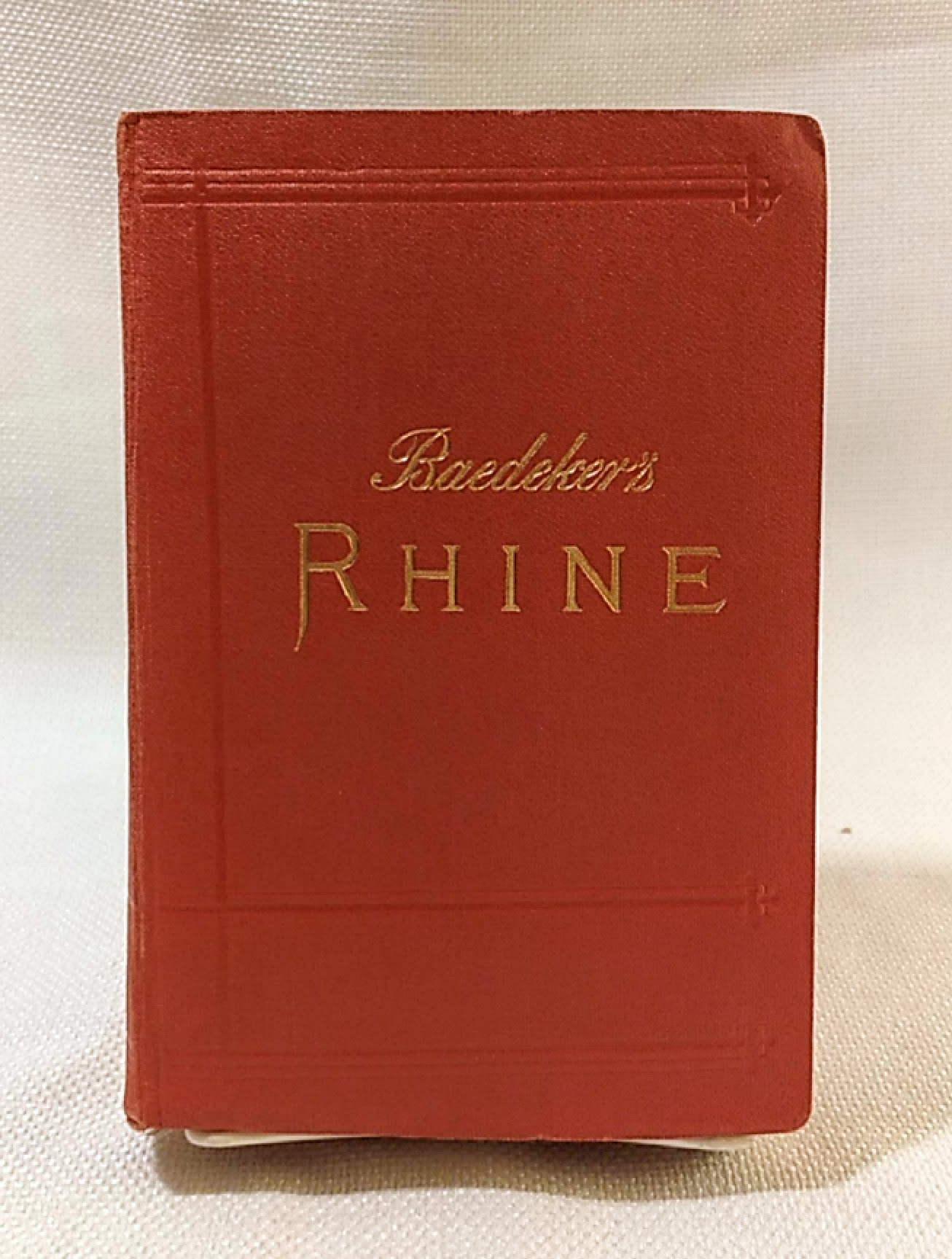 The Rhine, including the Black Forest & the Vosges; handbook for travellers 1911 [Hardcover], Baedeker, Karl