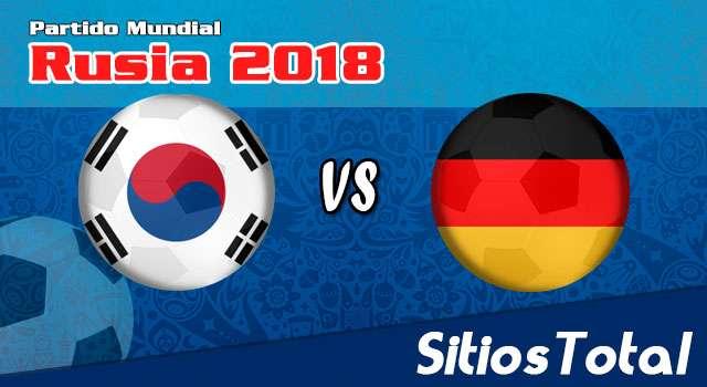 Ver Corea del Sur vs Alemania en Vivo – Mundial Rusia 2018