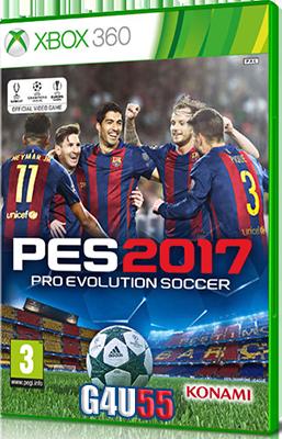 [XBOX360] Pro Evolution Soccer 2017 (2016) - FULL ITA