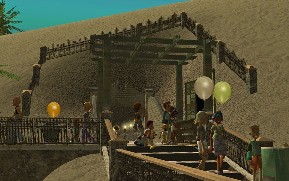My Projects - CSO's I Have Imported, Walls, Tunnels, and Fences - Tunnel Entrance Overlooking Midway Bay, Image 04