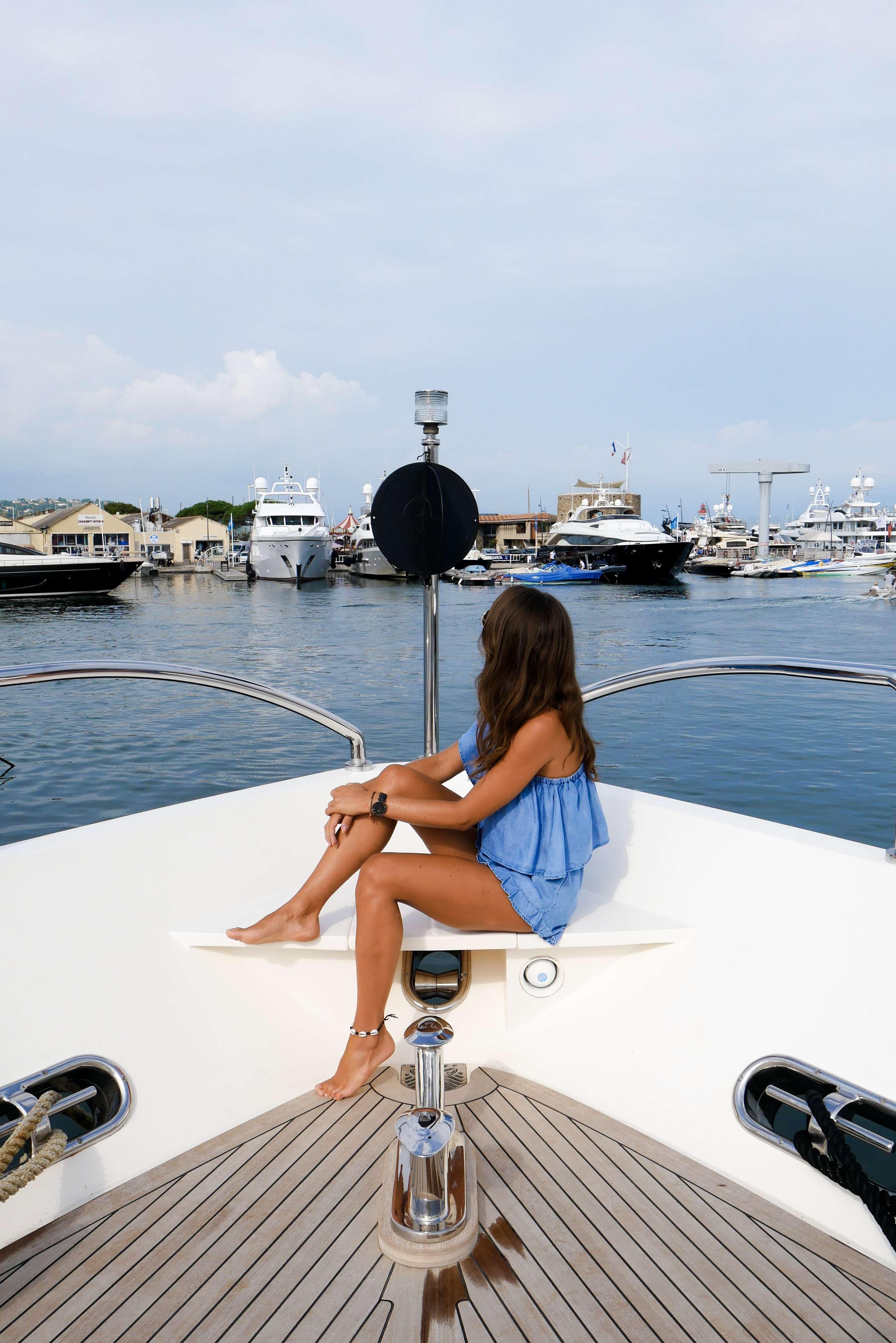 Yacht charter St Tropez