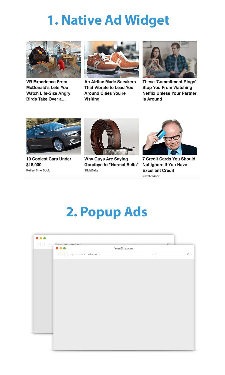 Adsomi First Native Ads Popups Ad Network Adsense Alternative