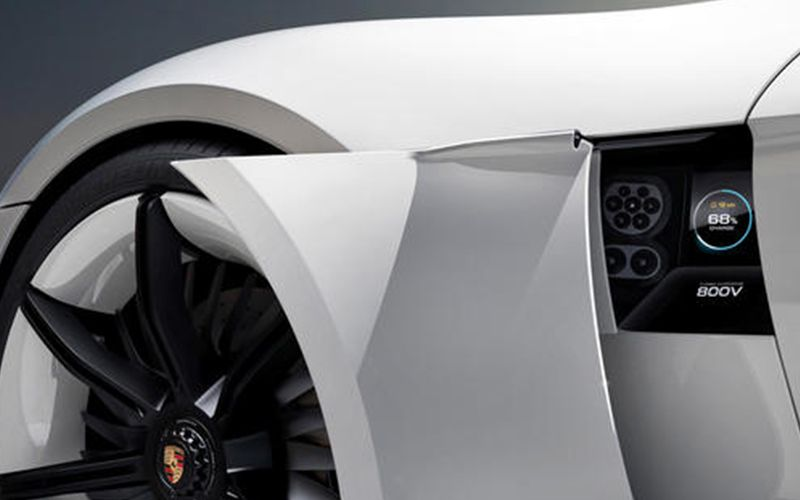 Porsche Taycan Charging Port