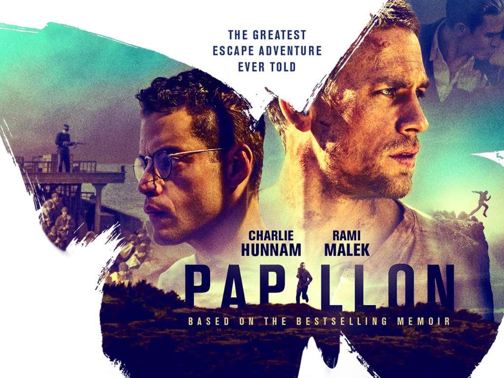 Ο Πεταλούδας (Papillon) Quad Poster Πόστερ