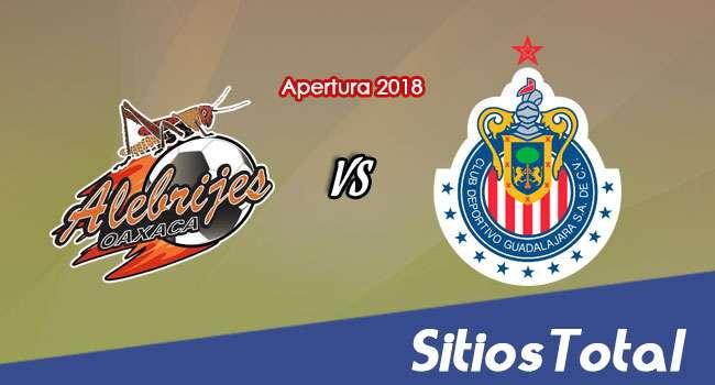 Alebrijes de Oaxaca vs Chivas en Vivo – Copa MX – Miércoles 8 de Agosto del 2018