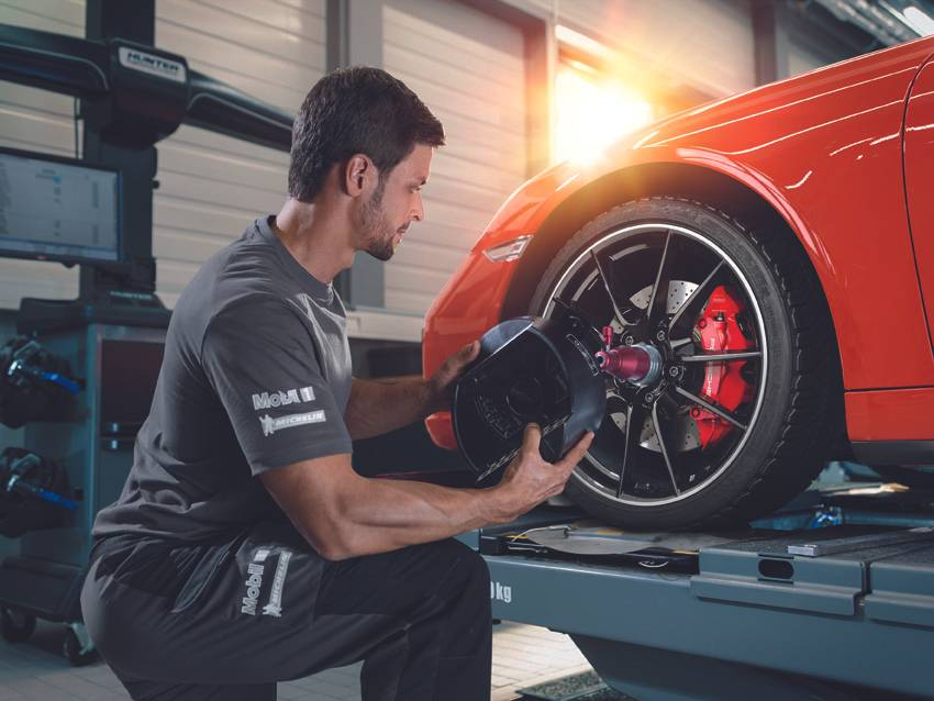 Porsche Tire Maintenance